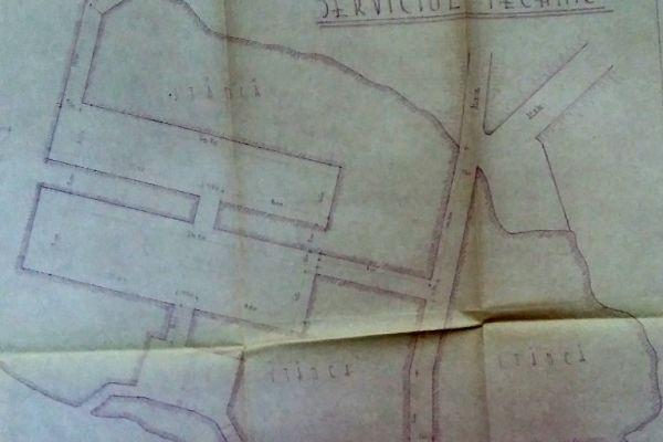 Planul tunelului din Calvaria (Stanca Cetatii Deva)